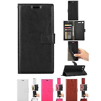 Sony Xperia Xz1-Leder-Hülle/-Abdeckung