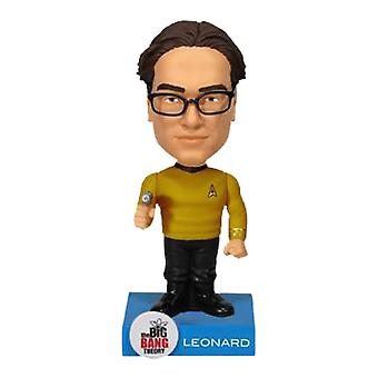 The Big Bang Theory Leonard Star Trek Wacky Wobbler