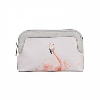 Wrendale Designs Flamingo Cosmetic Bag
