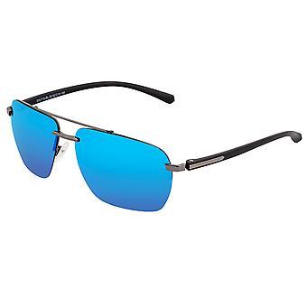 Yksinkertaista Lennox Polarisoidut aurinko lasit-Gunmetal/Blue