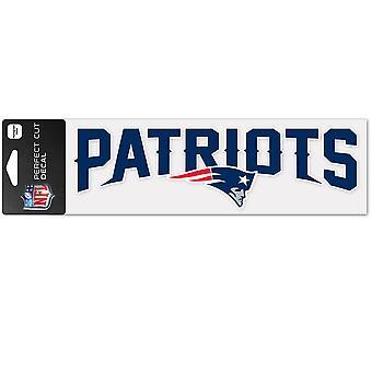 Wincraft dekal 8x25cm - NFL New England Patriots
