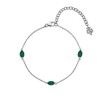 Anais Hot Diamonds Anais May Green Agate Bracelet AB005