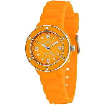 Oceanaut Women-apos;s Acqua Star Orange Dial Watch - OC0435