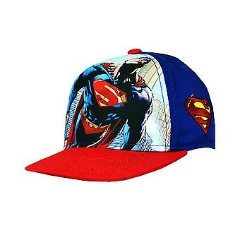 Superman Childrens/Kids Official Snapback Cap