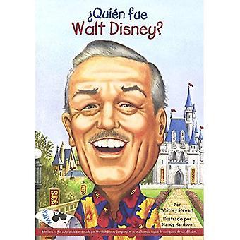 Quien Fue Walt Disney? (Qui était Walt Disney?)