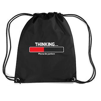 Zainetto nero trk0651 thinking patient