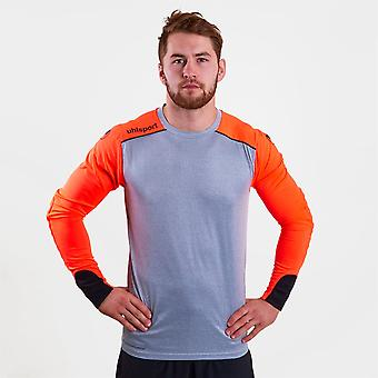 Uhlsport mens toren lange mouw replica shirt prestaties T-shirt tee top