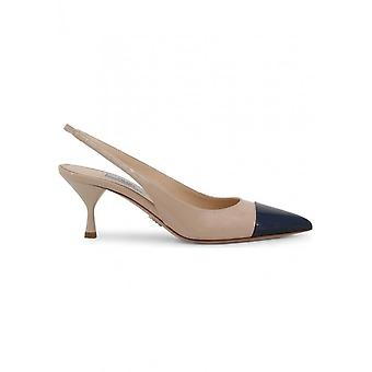Prada - Schuhe - High Heels - 1I272L_F0EG2 - Damen - tan,navy - 37