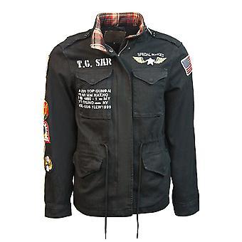 Top Gun M45 Canvas Jacket Black