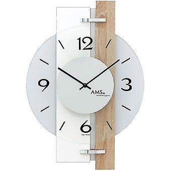 Horloge murale AMS - 9557