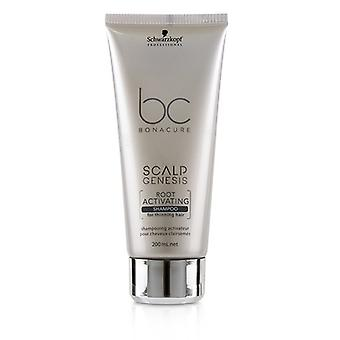 Schwarzkopf BC Bonacure Scalp Genesis Root Activating Shampoo (For Thinning Hair) 200ml/6.7oz