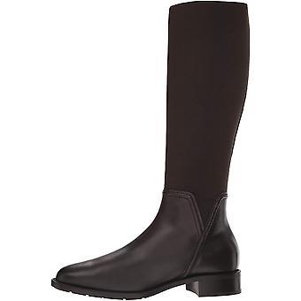 Aquatalia النساء نانينا النسيج مغلقة تو الركبة أحذية الأزياء الراقية