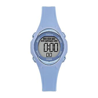 Tekday 654669 Watch - Silicone Blue Box Bracelet Silicone Blue
