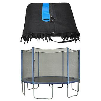 Trampoline Replacement Enclosure Surround Safety Net, Protective Outside Netting