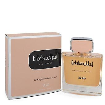 Entebaa eau de parfum spray by rasasi   548890 98 ml