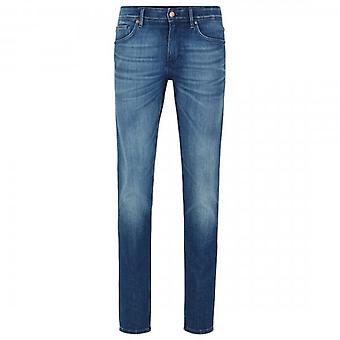 Hugo Boss Charleston 4 Mid Blue Washed Extra Slim Jeans 425 50421071