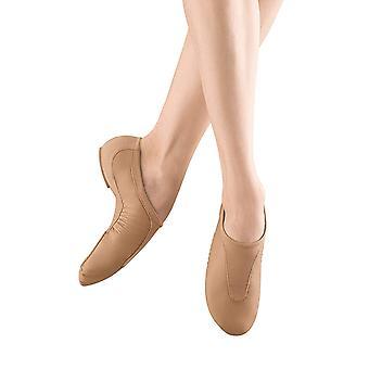 Bloch Dance Women's Pulse Leather and Neoprene Split Sole Jazz Shoe