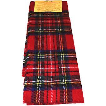 Lammeull skjerf-Royal Stewart moderne tartan