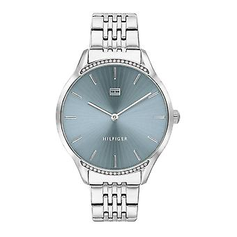 Tommy Hilfiger Watches 1782210 Silver And Blue 'gray' Steel Watch