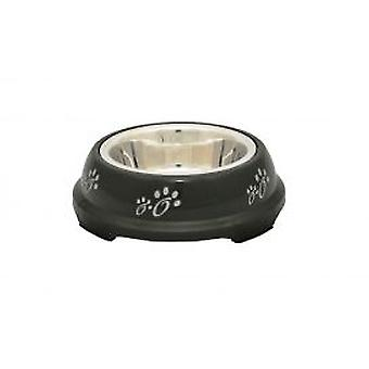 Duvo+ Black Plastic Steel Trough Support (Dogs , Bowls, Feeders & Water Dispensers)