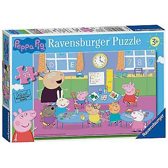 Ravensburger Peppa prasečí třída Fun 35pc skládačka