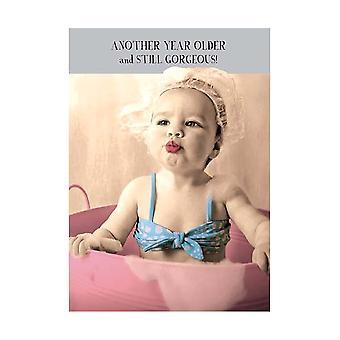 Pigment Midget Gems Still Gorgeous Humour Birthday Card