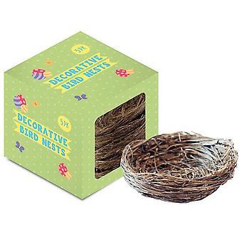 Nids d'oiseaux de Pâques Eurowrap (Pack de 5)