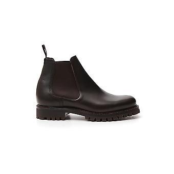 Church's Etc1599af0f0aev Men's Brown Leather Enkellaarsjes