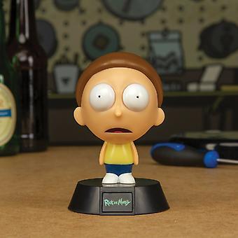Rick & Morty 3D Coleccionable Mini Icon Luces LED Super Brillante & Cool