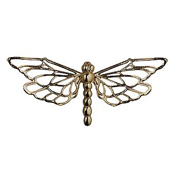 9ct Gold 26x55mm Dragonfly Brooch