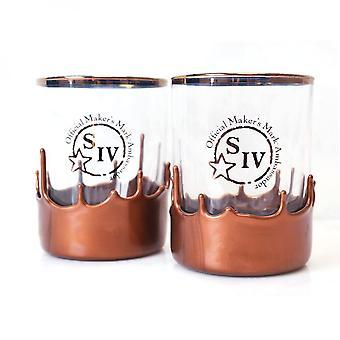 Les fabricants marquent Ambassadors Copper Dipped Glasses Set