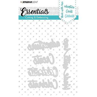 Studio Light Embossing Die Cut Stencil Essentials nr.164 STENCILSL164