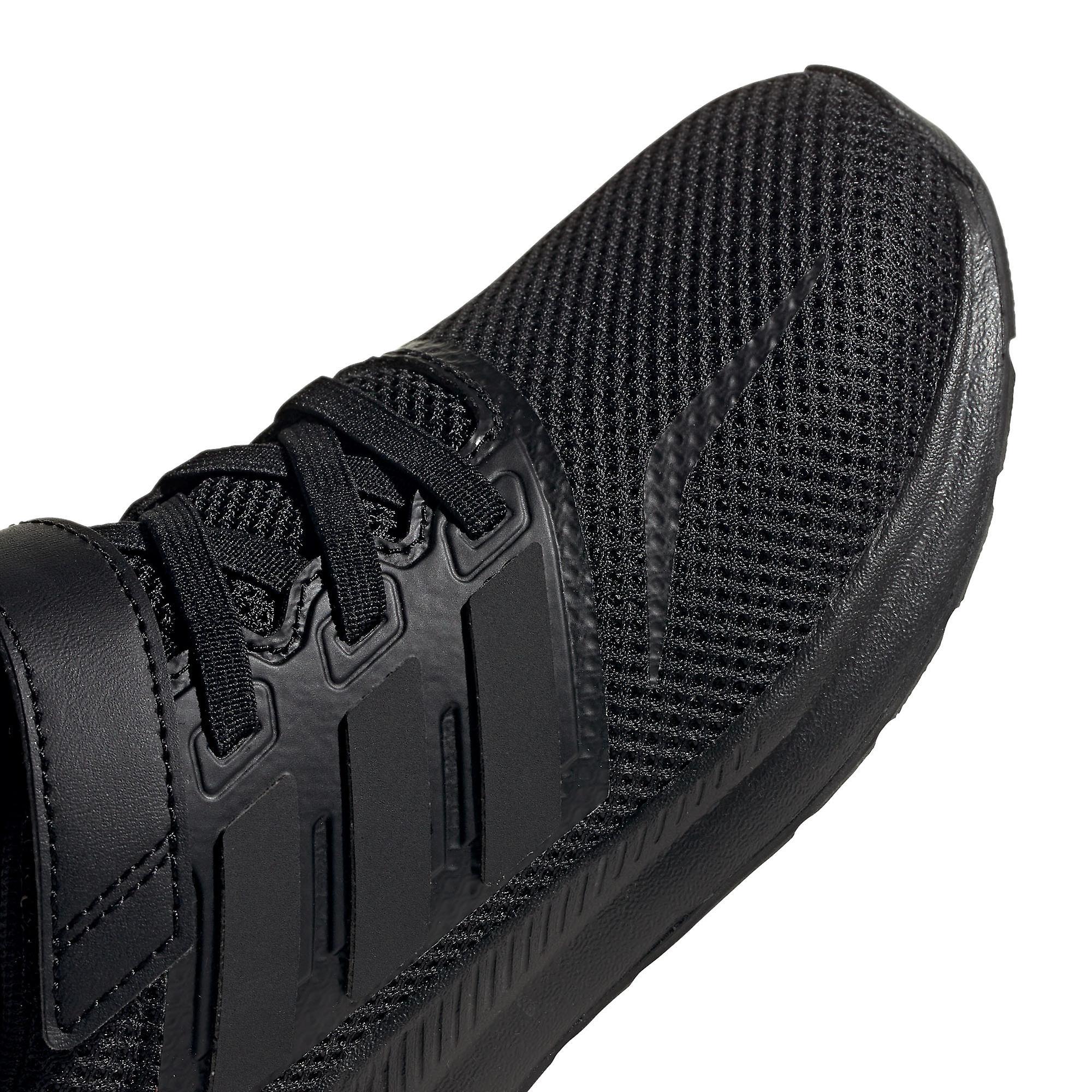 adidas Run Falcon Junior Kids hardloop trainer schoen zwart - Gratis verzending 7uIbJy