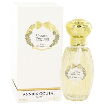 Vanille Exquise Eau De Toilette Spray بواسطة Annick Goutal 3.4 oz Eau De Toilette Spray
