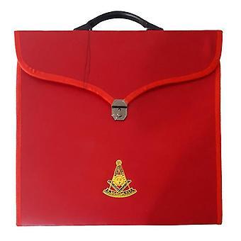 Masonic mm / wm og provinsielle fuld kjole forbi master røde sager ii