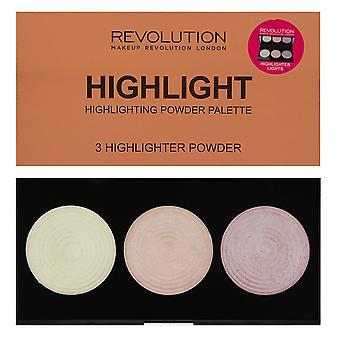Makeup Revolution Highlighter Palette - Highlight