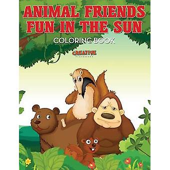 Animal Friends Fun in the Sun Coloring Book by Creative Playbooks