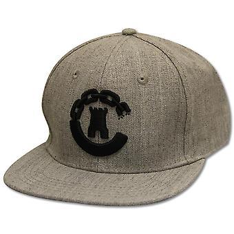 Crooks & Castles Hybrid C Snapback Speckle Grey