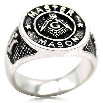 Meister Maurer Siegel Freimaurer ring