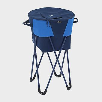 New Hi-Gear Camping Cooller Stand Silver