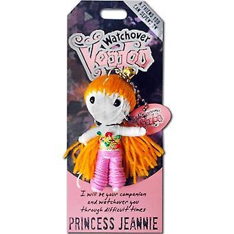 Watchover Voodoo Dolls Princess Jeannie Voodoo Keyring
