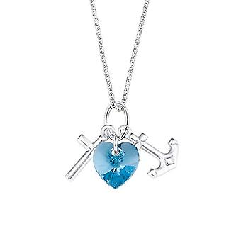 amor Necklace with Silver Woman Pendant - 2020608