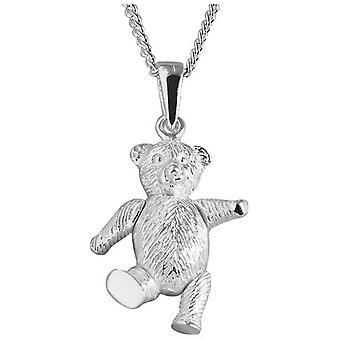 Orton West Teddybeer hanger - zilver