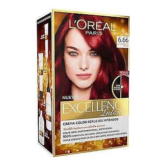 Permanent Dye Excellence Intense L'Oreal Make Up Intense scarlet red