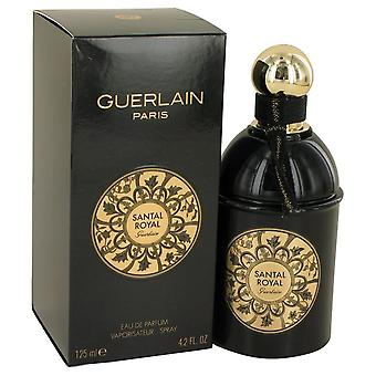 Santal Royal Eau De Parfum Spray By Guerlain 4.2 oz Eau De Parfum Spray