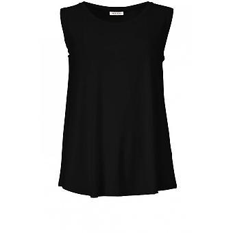 מסאי בגדים אליסה שחור חולצה למעלה