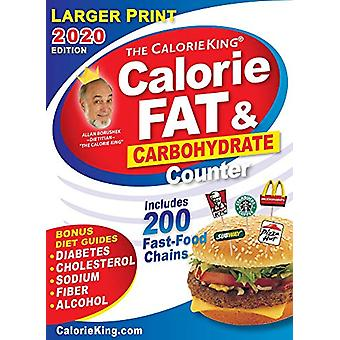 CalorieKing 2020 Larger Print Calorie - Fat & Carbohydrate Counte