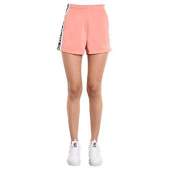 Fila 687689a483 Kvinder's Pink Polyester Shorts