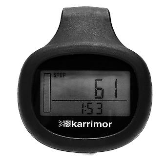 Karrimor Xlite Pedometer Workouts Training Calories Distance Step Counter