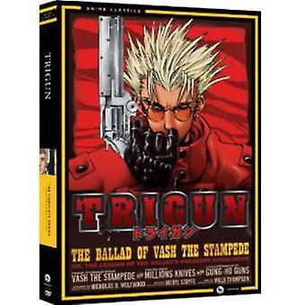 Trigun - Trigun: Komplett serie Box Set-Classic [DVD] USA import